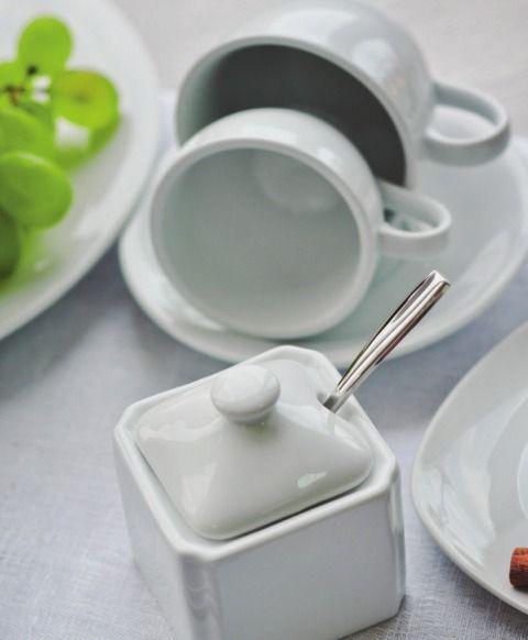 Фарфор белый для ресторана Alt Porcelain