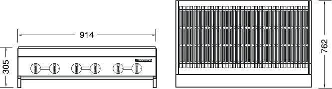 Схема Turbo air TARB-36