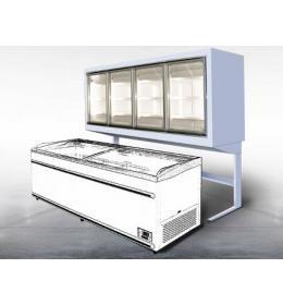 Морозильный шкаф Технохолод ШХНД(Д) «Канзас HLT» 3870 (встроенный агрегат)