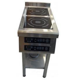 Плита индукционная напольная 2-х конфорочная 2,2 кВт Т (400/900/850)