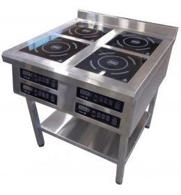Плита индукционная напольная 4-х конфорочная 2,2 кВт Т (800/900/850)