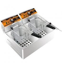 Двухпостовая фритюрница Inoxtech EF 82 EX