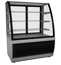 Холодильная витрина ВХСв-1,3д Carboma Люкс (Техно)