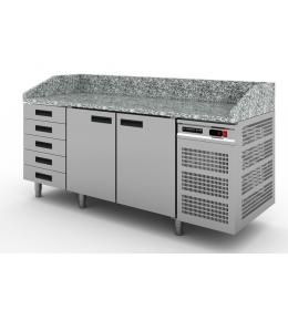 Холодильный стол для пиццы с ящиками Modern Expo NRACAS.000.000-00 A SK