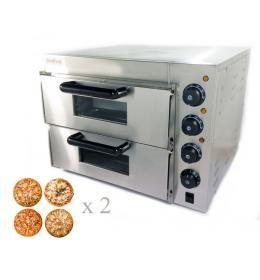Электрическая печь для пиццы GoodFood  P02 (4+4x20)