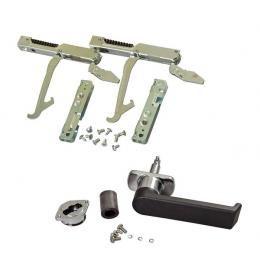 Ручки, петли дверей и фиксаторы стекол для пароконвектоматов и конвекционных печей UNOX (Италия)