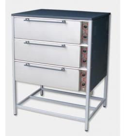 Пекарский шкаф трехкамерный ШПЕ-3 Ч
