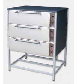 Пекарский шкаф трехкамерный ШПЕ 3 Н