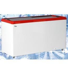 Морозильный ларь с прямым стеклом Juka M200P