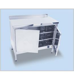 Стол для подогрева тарелок РТНН-2-0,6-1,3