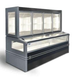 Низкотемпературный шкаф-бонета Технохолод БХН-1,0 «Аляска Combi T»