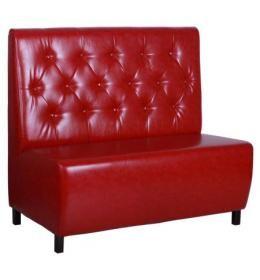 Диван AMF Сити на ножках, венге (Н100) 1200*670*1100Н Лаки красный