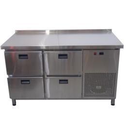 Стіл холодильний з ящиками СХ4Ш1Б-Н-Т (1400/700/850)