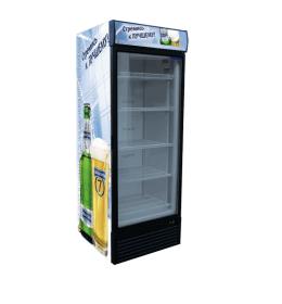 Холодильна скляна шафа UBC Optima