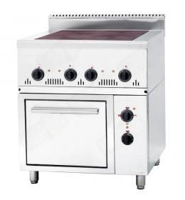 Електрична плита з духовим шкафом ПЕ-4-Ш (0,36) 700