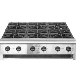Промышленная газовая плита 6-ти конфорочная TT6-36