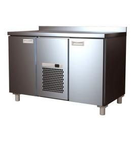 Холодильный стол 2GN/NT Carboma с бортом